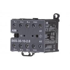 Мини-контактор B7-30-01-01, 24VAC, Uк=24VAC, 16А (20A по AC-1), 1NC всп. контакт