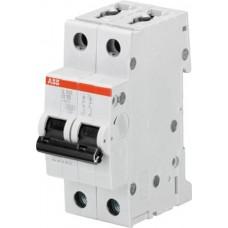 Автоматический выключатель S202-B20 2P B 20A 6kA 2M