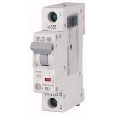 Автоматический выключатель HL-B16/1, 1P, 16A, хар-ка B, 4.5kA, 1M