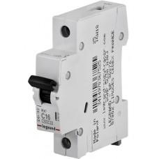Автоматический выключатель Legrand TX3, 1P, 25A, хар-ка B, 6kA, 1M