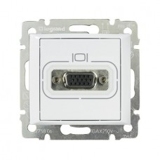 Valena - Розетка HD 15 для видеоустройств, белая