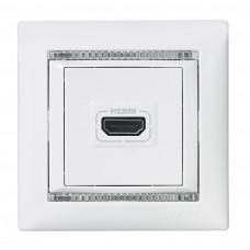 Valena - Розетка HDMI для аудио/видеоустройств, белая