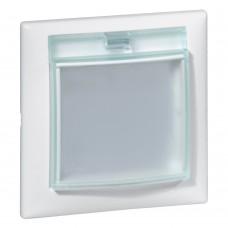 Valena - Рамка 1 пост с крышкой IP44, белая
