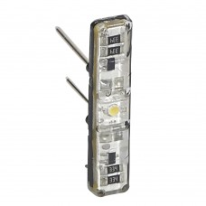 Светодиодная лампа подсветки для выключателя 230В, 0,15мА, втычная