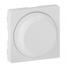 Valena Life - Лицевая панель для светорегулятора с поворотной ручкой, белая