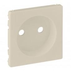 Valena Life - Лицевая панель силовой розетки 2P, слоновая кость