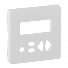 Valena Life - Лицевая панель локального модуля управления звуковой трансляции, белая