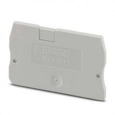 Крышка концевая D-ST 2,5 /2,2mm, для пружинных клемм ST 2,5, серая