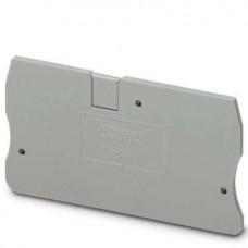 Крышка концевая D-ST 6 /2,2mm, для пружинных клемм ST 6, серая