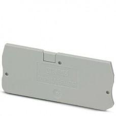 Крышка концевая D-ST 2,5-QUATTRO /2,2mm, для пружинных клемм ST 2,5-QUATTRO, серая