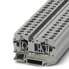 Клемма проходная ST 6 /8,2mm, пружинная, 2 присоед., 6(max 10)mm2, 41A, 1000V, серая