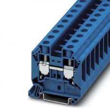 Клемма проходная UT 16 BU /12,2mm, винтовая, 2 присоед., 16(max 25)mm2, 76A, 1000V, синяя