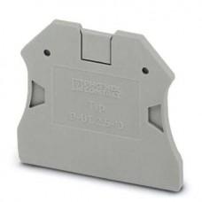 Крышка концевая D-UT 2,5/10 /2,2mm, для винтовых клемм UT 2,5..10, серая
