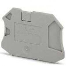 Крышка концевая D-UT 2,5/4-TWIN /2,2mm, для винтовых клемм UT 2,5..4-TWIN, серая