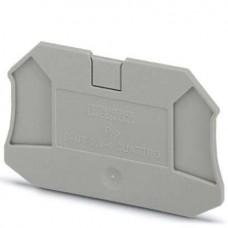 Крышка концевая D-UT 2,5/4-QUATTRO /2,2mm, для винтовых клемм UT 2,5..4-QUATTRO, серая