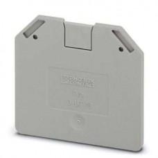 Крышка концевая D-UT 16 /2,2mm, для винтовых клемм UT 16, серая