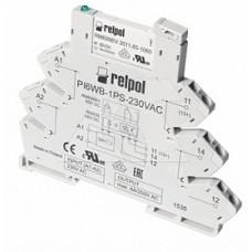 Реле интерфейсное PI6-1P-24VDC, 1CO, 6A(250VAC), 24VDC, LED, моноблок, W=6.2mm