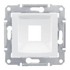 SEDNA АДАПТЕР для 1 коннектора RJ45, SYSTIMAX, кат. 5e, кат. 6, UTP, БЕЛЫЙ